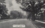 """Broad Street looking East, Ozark, Alabama."""