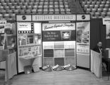 Booth displaying Barrett asphalt shingles at the 1967 (twenty-third annual) Alabama Retail...