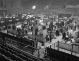 Booths at the 1967 (twenty-third annual) Alabama Retail Hardware Association convention at Garrett...