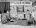 Wilshire Manufacturing Company booth at the 1967 (twenty-third annual) Alabama Retail Hardware...