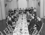Christmas banquet for members of the Salvation Army at the Greystone Hotel in downtown Montgomery,...