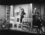 United Appeal window display sponsored by the Salvation Army at J. C. Penney on Court Square in...