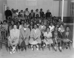 Children at a Salvation Army Christmas party at the Booker T. Washington Community Center at 726...