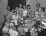 Children's Sunday School class at the West End Salvation Army on Eugene Street in Montgomery,...