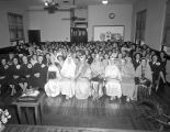 Salvation Army meeting at the Citadel at 308 North Lawrence Street in Montgomery, Alabama.