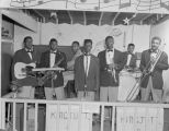 The King Tutt Band performing at the American Veterans Club at 174 Lee Street in Montgomery,...