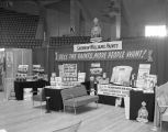 Sherwin-Williams booth at the 1957 Alabama Retail Hardware Association convention at Garrett...