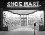 Shoe Mart at 22 Dexter Avenue in downtown Montgomery, Alabama.