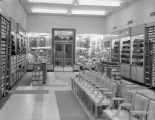 Interior of Shoe Mart at 22 Dexter Avenue in downtown Montgomery, Alabama.