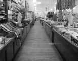 Clothing section of the Silver's store at 71-73 Dexter Avenue in Montgomery, Alabama.