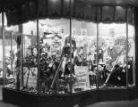 Window display of children's clothing and shoes at the Silver's store at 71-73 Dexter Avenue in...