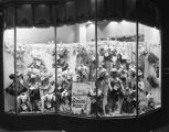 Window display of children's clothing at the Silver's store at 71-73 Dexter Avenue in Montgomery,...