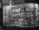 Window display of school supplies at the Silver's store at 71-73 Dexter Avenue in Montgomery,...