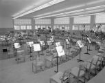 Band room at Tuscaloosa High School in Tuscaloosa, Alabama.