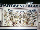 Alabama Department of Agriculture booth at Garrett Coliseum during the South Alabama Fair in...