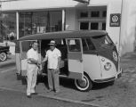 Volkswagen van parked in front of Southern Motor Imports at 501 Montgomery Street in Montgomery,...