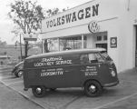 Skelton's Lock and Key Service van parked in front of Southern Motor Imports at 501 Montgomery...