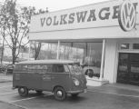 Capitol Floral Company van parked in front of Southern Motor Imports at 501 Montgomery Street in...