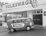 Loftin's Transfer and Storage Company van parked in front of Southern Motor Imports at 501...
