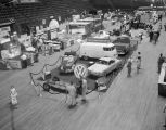 Southern Motor Imports display at Garrett Coliseum during the 1960 South Alabama Fair in...