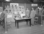 Southern Seal-O-Matic booth at Garrett Coliseum during the 1956 South Alabama Fair in Montgomery,...