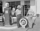 Waldrip Service Station at 1701 Mulberry Street in Montgomery, Alabama.