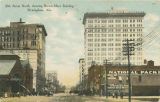 """20th Street North, showing Brown-Marx Building, Birmingham, Ala."""