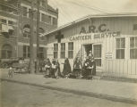 American Red Cross Canteen Service on Lee Street in downtown Montgomery, Alabama.