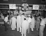 Shooting gallery at a carnival at the Veterans Administration hospital on Perry Hill Road in...