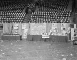 Weaver Paper Company booth at Garrett Coliseum during the 1962 South Alabama Fair in Montgomery,...
