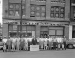 Hav-a-Tampa salesmen in front of the S. D. Winn Cigar Company at 234 Commerce Street in downtown...