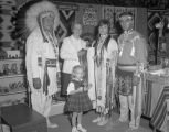 Old Dells Park Indian Village booth at Garrett Coliseum during the 1965 South Alabama Fair in...