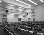 Band room at Tullibody Music Hall at Alabama State University in Montgomery, Alabama.