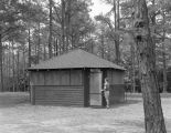 Pioneer Cabin, probably at Camp Rotary in Elmore County, Alabama.