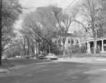 South McDonough Street in Montgomery, Alabama, looking north from the intersection with High...