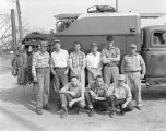 Alabama Power Company line crew in Montgomery, Alabama.