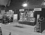 Alabama Power Company booth at Garrett Coliseum during the 1956 South Alabama Fair in Montgomery,...