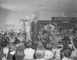 Fashion show at a convention hosted by the Johnson's Beauty and Barber Supply Company, held at the...