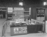 American Cancer Society booth at Garrett Coliseum during the 1963 South Alabama Fair in...