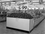 Coconut display at the Kwik Chek store at 525 West Fairview Avenue in Montgomery, Alabama.