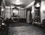 Drawing room in the Governor's Mansion