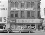 Liggett's Rexall Drug Company on Court Square in downtown Montgomery, Alabama.