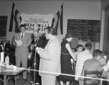 Election returns broadcast sponsored by the Montgomery Radio Network Association, probably at the...