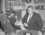 Announcer at station WMGY in Montgomery, Alabama.