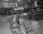 Interior of the Wilbanks Wholesale Rubber Company at 1350 North Decatur Street in Montgomery,...
