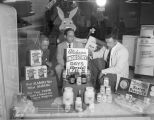 """Alabama Industry Days"" display in the window at the Alabama Gas Corporation building at..."
