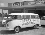 Van for radio station WMGY parked outside the studio at North Capitol Parkway in Montgomery,...