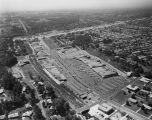 Aerial of the Eastbrook Shopping Center on Coliseum Boulevard in Montgomery, Alabama.