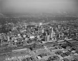 Aerial view of downtown Birmingham, Alabama.