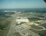 Aerial view of Eastern Boulevard near the intersection with Woodmere Drive in Montgomery, Alabama.